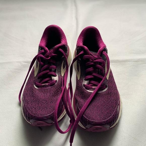 47ac08a6538ae brooks adrenaline gts 18 running shoes purple sz 7